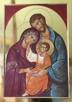 Religious Icons, Religious Art, Jesus E Maria, Byzantine Art, Madonna And Child, Egg Art, Holy Family, I Icon, Orthodox Icons