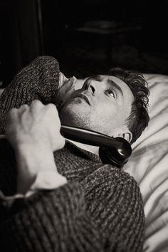 Tom Hiddleston photographed by Tomo Brejc.