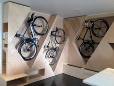 space-saving bike storage ideas for small apartments. Indoor bike storage solutions are for people who can't part with their bicycle.