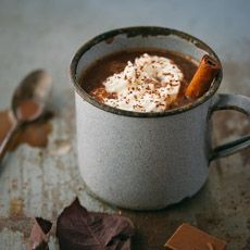 This European-style hot chocolate is thick, decadent, and insanely chocolaty – perfect for a cozy winter evening.