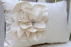 DIY Floral Pillows