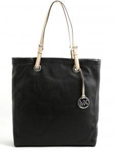 Michael Kors-jet set item black tote bag-borsa jet set item nera-Michael Kors 2014 shop online