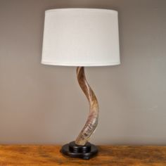High Quality Kudu Horn Table Lamp