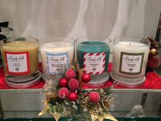 Special holiday, Beverly Wilshire candles. Sold exclusively in Spa-Tique (located on the main floor of the Beverly Wing).