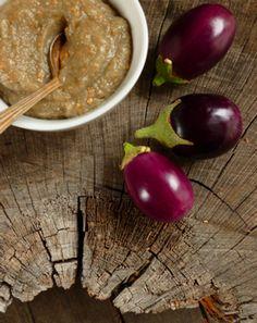 Freezing eggplant puree (baba ganoush, etc. Eggplant Recipes, Baby Food Recipes, Whole Food Recipes, Vegan Recipes, Farmers Market Recipes, Freezer Meals, Freezer Recipes, Meals, Vegane Rezepte