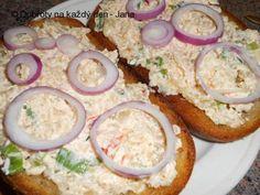 Grains, Eggs, Snacks, Dinner, Cooking, Breakfast, Food, Czech Recipes, Sandwich Spread