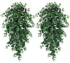"TWO 51"" Ivy Artificial Hanging Greenery Bushes, with No Pot, $49.99"