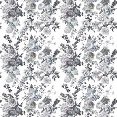 Seraphina II - Charcoal Fabric  | Designers Guild