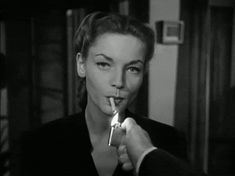 We Had Faces Then — hildy-dont-be-hasty: Film noir + smoking: Murder,...