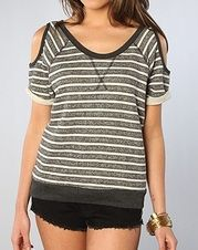 The Ace Top in Pepper Stripe Alternative Outfits, Alternative Apparel, Perfect Wardrobe, Casual Tops, Streetwear Fashion, Street Wear, Pepper, Clothes, Store