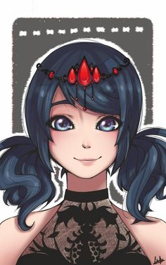 (Miraculous: Tales of Ladybug and Cat Noir) Marinette Dupain-Cheng/Ladybug Marinette Anime, Marinette E Adrien, Marinette Ladybug, Miraclous Ladybug, Ladybug Comics, Ladybugs, Ladybug Und Cat Noir, Princess Of China, Catty Noir