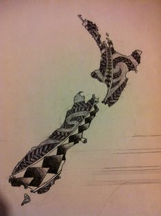 23 awesome maori new zealand map tattoo images tattoos pinterest awesome new zealand and on. Black Bedroom Furniture Sets. Home Design Ideas