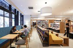 Culfe book store and café by fan Inc, Shizuoka   Japan cafe bookstore