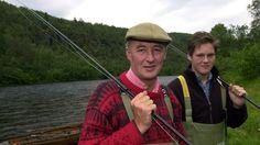 Duke of Roxburghe and his family have fished in the Alta River / NRK TV - Ut i naturen: Hertugen i Altaelva - 27.05.2012