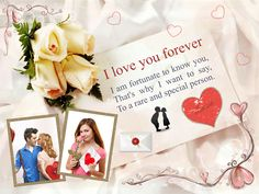 Download Free Love Greeting Card Template-1001 in CorelDraw and Ms-Word File Format.