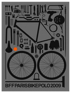 Another poster with bikes details.