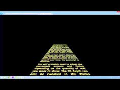 Star Wars Scrolling Text in CSS3   WebDevAddict