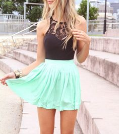FASHION CUTE LACE CHIFFON DRESS