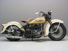 1935 Harley Davidson... Beautiful...