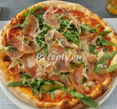 Hawaiian Pizza, Vegetable Pizza, Quiche, Food And Drink, Vegetables, Cooking, Breakfast, Kitchen, Foods