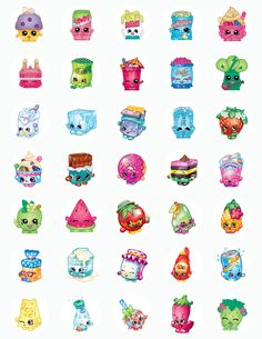 Shopkins Character Inspired Edible Icing Cake Pop – Bling Your Cake Shopkins Bday, Shopkins Cake, Birthday Star, Birthday Parties, Birthday Ideas, Shopkins Characters, Lemon And Coconut Cake, Bottle Cap Images, Monster High Dolls