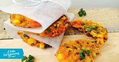 Low FODMAP Carrot & Corn Fritters