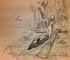♥ Chiara Bautista - Cosmic Wolf and Bunny Girl Art Et Illustration, Illustrations, Chiara Bautista, Wolf, Arte Horror, Art Moderne, Dark Art, Amazing Art, Art Reference