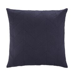 Quilted Geo Cushion - Blue kmart $10