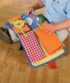 Libro de tela y fieltro para bebes y niños