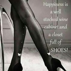 Wine and shoes - Oh my!