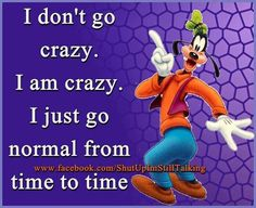 Goofy quote