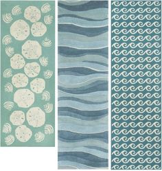 Coastal Nautical Runner Rugs that Make an Entry | Shop the Look - Completely Coastal