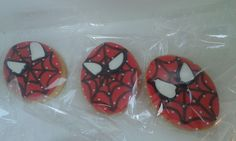 Galletas de Spiderman.