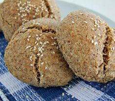 Amazing Bread Rolls - Low Carb & Gluten Free - Divalicious Recipes