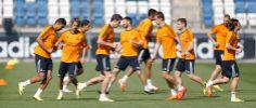 El Real Madrid completó el segundo entrenamiento para preparar la final de Copa