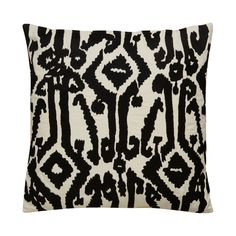 Your seating is sure to look pretty in prints. Our Ellery Pillow is made with 100% cotton and features an abstract print on its front along with a zipper closure. Dry clean only. Made in India.  Find the Ellery Pillow, as seen in the Home Sweet Homesteader in Joshua Tree Collection at http://dotandbo.com/collections/home-sweet-homesteader-in-joshua-tree?utm_source=pinterest&utm_medium=organic&db_sku=121613