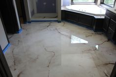 Reflector Enhnacer metallic epoxy floor