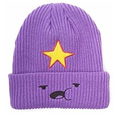 Adventure Time Princess Lumpy Beanie (70 BRL) ❤ liked on Polyvore featuring accessories, hats, beanie caps, beanie hat and beanie cap hat