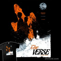 """""""The Verse"""" by Girardin27. Movie poster design based on Serenity/Firefly for a hypothetical film called """"The Verse""""."""