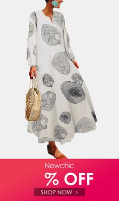 I found this amazing Geometry Print Long Sleeves V-neck Casual Dress For Women with US$29.99,and 14 days return or refund guarantee protect to us. --Newchic #Womensdresses #womendresses #womenapparel #womensclothing #womensclothes #fashion #onlineshop #onlineshopping #bigdiscount #shopnow #DiscountSale #discountprices #discountstore #discountclothing #fashionista #fashionable #fashionstyle #fashionpost #fashionlover #fashiondesign #fashionkids #fashiondaily #fashionstylist #fashiongirl Cheap Summer Dresses, Beach Dresses, Fall Dresses, Casual Dresses For Women, African Print Dresses, Animal Print Dresses, Tribal Dress, Boho Dress, Clothes For Sale