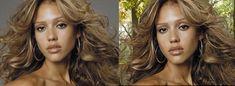 Masking hair fine strands gimp tutorial