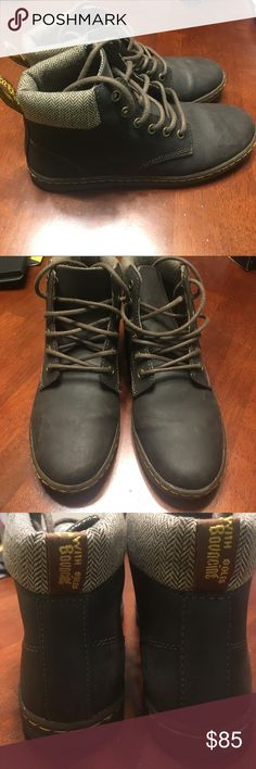 Doc Martens - Dr. Martens Brown Docs! Love them but just moved to Florida so I don't need them! Worn 3 times. Dr. Martens Shoes