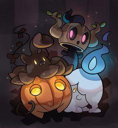 Spooky Pokemon by SplashBrush on DeviantArt