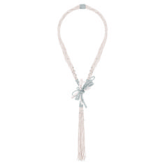 """Chanel - Les Perles de Chanel - """"Perles de Couture"""" necklace in white gold set with 804 brilliant-cut diamonds with a total weight of 21.98 carats, 78 cultured Japanese pearls from 3 to 5.2mm in diameter and 22 fine half pearls and 44 rows of pearls"""