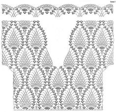 This Pin was discovered by Люс - Salvabrani - Salvabrani 15 elegant crochet tunics with diagrams beautiful crochet stuff – Artofit Crochet Motif Patterns, Crochet Cardigan Pattern, Crochet Tunic, Crochet Stitches, Diy Crochet Shorts, Diy Crafts Crochet, Crochet Clothes, Pineapple Crochet, Pineapple Pattern