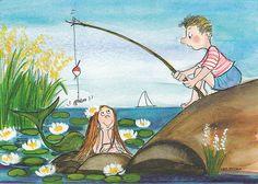 Kalajuttu....    (fish story)