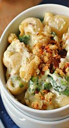 Chicken-Broccoli Shells and Cheese Recipe   Diethood