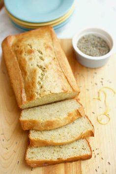 Lavender Lemon Banana Bread Recipe