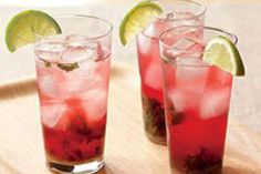 Red Mojitos Recipe