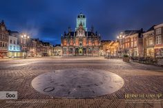 Old Dutch - Pinned by Mak Khalaf The old dutch city Delft and it's Townhall City and Architecture architecturebrickscitydelfthollandlightnederlandnetherlandsnightstreeturban by MichielBuijse